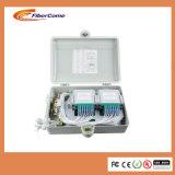 Imperméabiliser 24 cadres en plastique de diviseur de 1h16 de coffret d'extrémité de distribution de fibre optique des faisceaux FTTH