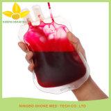 Zak van het Bloed van het ziekenhuis de Beschikbare Plastic Dubbele