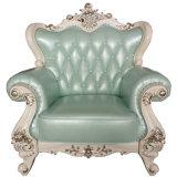 La Chine Ciff Home Furniture Fair Salle de séjour un canapé en cuir véritable (004-3)
