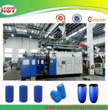 Machine en plastique bleue de soufflage de corps creux de tambour de HDPE grande/machines de soufflement de plastique