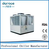 Refrigerador industrial do parafuso 80kw de Malaysia da máquina da modelação por injeção
