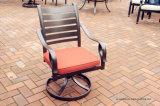 PC della fusion d'alluminio 7 che pranza la mobilia stabilita del giardino