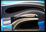 Высокое качество белая передняя стойка со стойкой регистрации конторской мебели