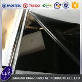 Espejo Super polaco 8K 201 Hoja de acero inoxidable 304 para la decoración