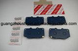 Alquiler de pastillas de freno delantero disco 04465-0K020 de Toyota Vigo