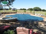 Tampa verde da piscina do engranzamento da segurança para piscinas de Inground
