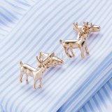 Cadeau de Noël en cuivre VAGULA Deer Liens brassard 632