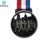 Concevoir la médaille de l'argent 925 pure olympique de qualité avec la bande