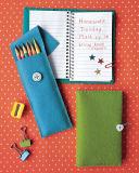 OEMはハンドメイドのフェルトの筆箱のフェルトの鉛筆袋をカスタマイズする