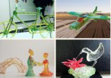 Nachladbare Drucken-Feder der niedrigen Temperatur-lustige kreative SLA des Harz-3D