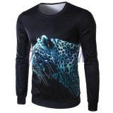T-shirt estampé longue par araignée des chemises 3D de chemises d'impression de 100%Polyester Subliamtion pour l'homme