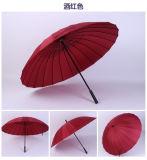 سيارة مسيكة صامد للريح مفتوحة [بورتبل] نمو [24ك] مستقيمة مظلة صاحب مصنع مع علامت تجاريّةك