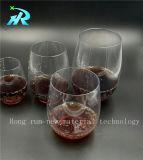 любимчик 10oz большая пластичная кофейная чашка стекла вина