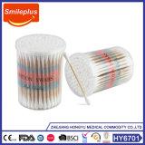 Fabricado en China fábrica bastoncillos de algodón hisopos de algodón