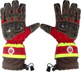 Резать-Упорные перчатки пожарного с теплостойкnIs делают водостотьким