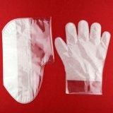 Material PE totalmente automática máquina de hacer la máscara de pie de la mano
