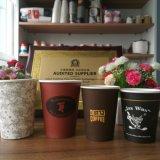De gepersonaliseerde Promotie Afgedrukte Beschikbare Koppen van de Thee van de Koffie van het Document
