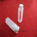 Cubeta de vidrio de cuarzo de alta pureza para análisis espectral
