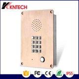 Шкала GSM телефона Knzd-06 VoIP/SIP автоматическая с высоким качеством