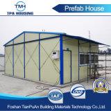 Chambre préfabriquée en acier personnalisée par coût bas de modèle avec 2 salles de bâti