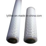 Fibra de vidro de 0,2 0,45 Um mícron com cartucho de filtro de pregas DOE Soe 226 M6 a montagem