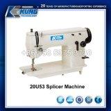 Máquina de coser zig-zag Lockstitch espina de pez de la máquina de empalmes