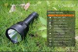 Аккумулятор USB фонарик для охоты, IPX-8 является водонепроницаемым и 800 лм аварийный фонарик фонарик для поиска и спасения,