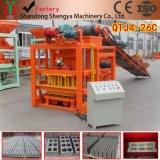 Qtj4-26 Les petites et moyennes bloc de béton mécanique automatique Making Machine