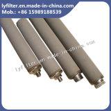 Micropore de 40 pulgadas Filtro de agua en línea de titanio (varilla/tubo) para los reactivos químicos