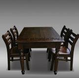 Feste hölzerne speisende Stuhl-Wohnzimmer-Möbel (M-X2465)