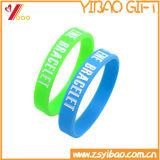 Bracelet en silicone colorées personnalisés, de la bande caoutchouc, bracelet en silicone avec logo