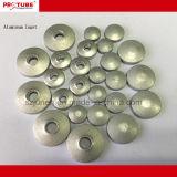 Alumínio vazias de alta qualidade do tubo de Embalagem Cosméticos com tampa