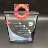 Caja de embalaje del PVC del papel de encargo de la cartulina/caja de embalaje de la cartulina de papel con la ventana del PVC