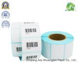 Unbelegter selbstklebender thermisches Papier-Rollenkennsatz