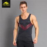 人のスポーツのタンクトップの体操の袖なしのワイシャツタンク