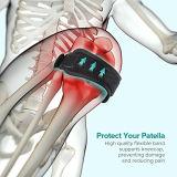 진통, 관절염, Acl, 달리기, 하이킹 및 추가 검은 담비를 위한 슬개골 무릎 결박 지원