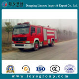 Camion dei vigili del fuoco delle rotelle LHD di Sinotruk HOWO 6 da vendere