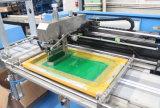 Polyester-Satin-Farbband-automatische Bildschirm-Drucken-Maschine mit Servomotor