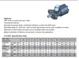 Moteur hydraulique orbital de moteur hydraulique d'orbite de Bmr/OMR