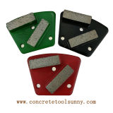 De concrete Malende Plaat van het Trapezoïde van de Diamant voor de Molen van de Vloer