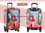 Комплект багажа мешков багажа перемещения чемодана PC ABS сбор винограда Bw1-084
