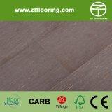 Le contre-plaqué a conçu le cliquetis en bambou P-Easw08 de plancher tissé par brin