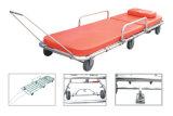 Barella di alluminio medica dell'ambulanza per attrezzature mediche