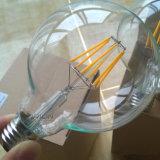 Dekoratives LED Birnen-Licht der LED-transparentes Glühlampe-Kugel-G95 4W E27