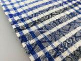 Los hilados de algodón teñido de franela Jacquard Fabric-Lz7770