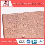 PVDF léger Facile à assembler des panneaux de revêtement architectural en métal pour revêtement de toit plafond soffites//