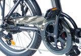 Bicicleta eléctrica plegable urbana de alta velocidad del poder más elevado inferior del paso de progresión