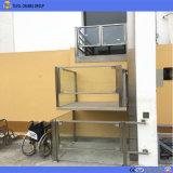 무능한 것을%s 수직 휠체어 플래트홈 상승이 250kg에 의하여 상승 집으로 돌아온다