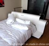 Corian白く新しいデザインホテルのベッド