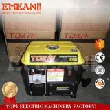 Generador de gasolina de 650W con bastidor de hierro para un mejor pasar